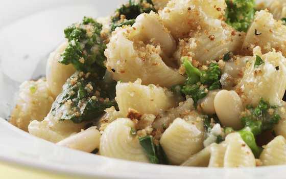Orecchiette with Broccoli Rabe and Chickpeas Recipe